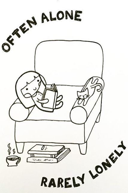If You're an Introvert, You Will Relate to These Doodles on SO Many Levels