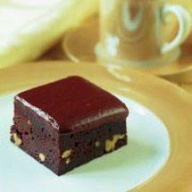 Microwave Fudgy Chocolate Brownies