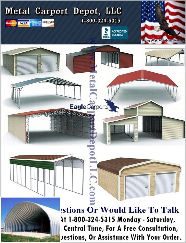 See These Metal Buildings With Carport Attachments Metal Carports Metal Building Homes Metal Buildings