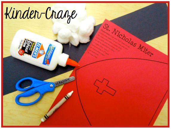 Kinder-Craze: Ideas and Freebies for St. Nicholas Day