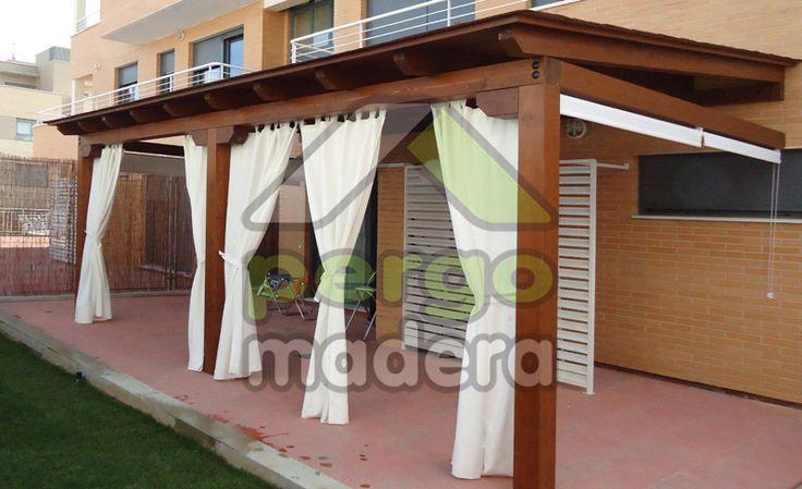 Su porche de madera con la mejor calidad garant a y - La mejor madera para exterior ...