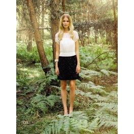 Vestido de gasa Laura Bernal. - Lucia Moda
