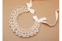 China perlas de cristal con color beige cinta joyería artesanal collares (NL-489) supplier