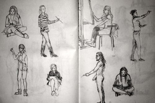 part of my sketchbook.
