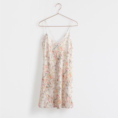 Camisa de Dormir Estampado Floral - Mulher - Loungewear   Zara Home Portugal