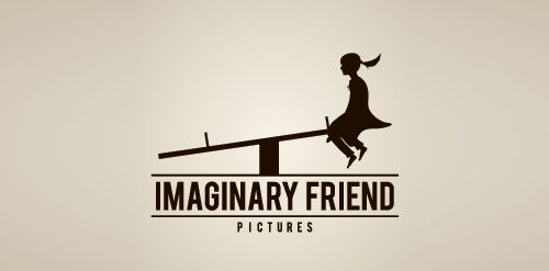 Imaginary Friend Logo | genius!