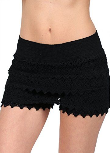 Great comfort without skimping on style points. This gorgeous fresh crochet shorts is durable for long time use and the material is extremely comfortable for wearing.  http://darrenblogs.com/us/2018/02/27/cotton-natural-womens-crochet-lace-shorts-beach-scallop-hem-miniskirts/