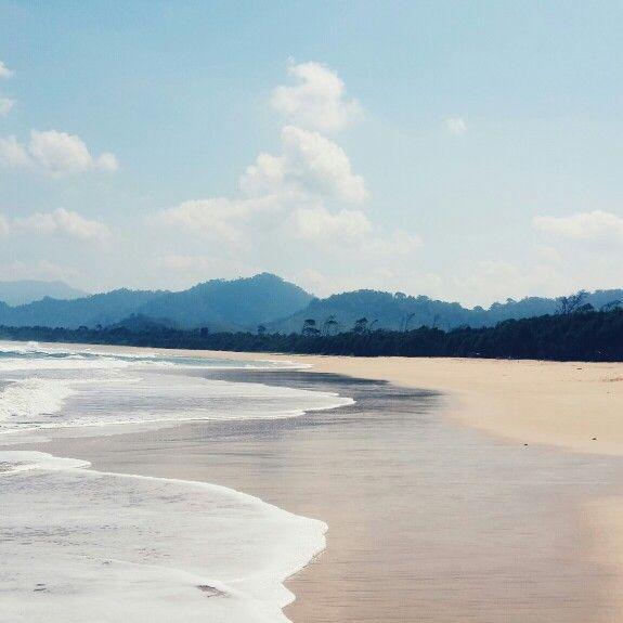 Pantai Pulau Merah Indonesia