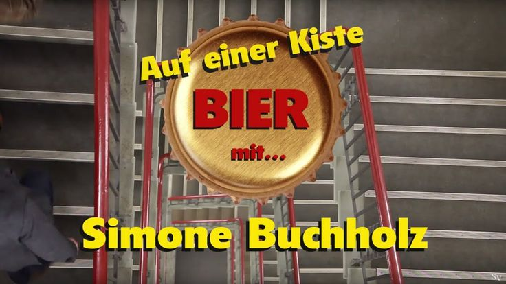 Auf einer Kiste Bier mit: Simone Buchholz