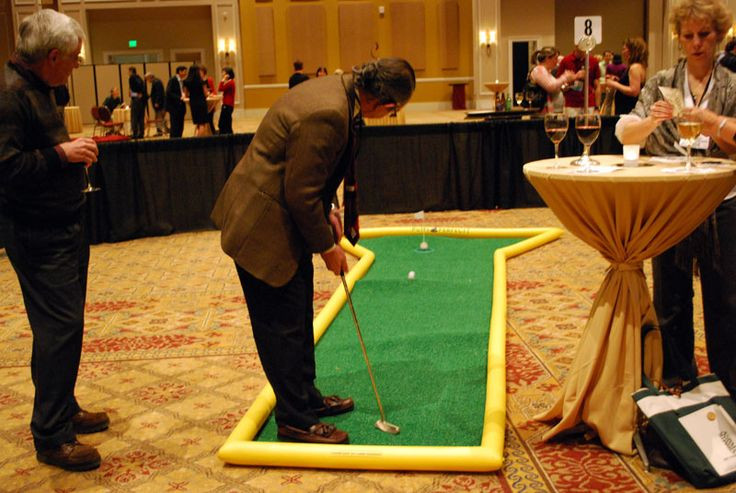 GREAT FUNDRAISER!  From gala's and corporate events to family nights and fairs, mini golf provides an exciting way to raise money or provide entertain for your group.  Minimal investment + high profit margin= an ideal fundraiser.