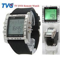 Watch-Discounter - TVG digitaal heren horloge zwarte band met afstandsbediening