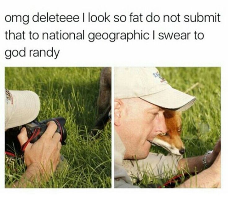 okay but the funny thing is there's actually a Nat Geo photographer named Randy Olson