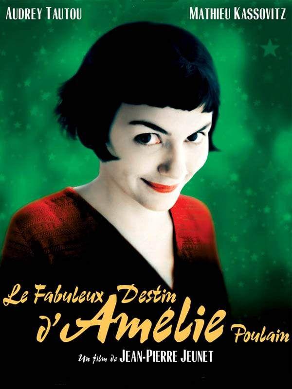 Le Fabuleux destin d'Amélie Poulain est un film de Jean-Pierre Jeunet avec Audrey Tautou, Mathieu Kassovitz. Synopsis : Amélie, une jeune serveuse dans un bar de Montmartre, passe son temps à observer les gens et à laisser son imagination divaguer. Elle s'est fixé un bu