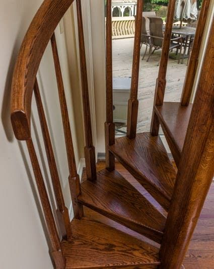 Best All Wood Configurable Spiral Stair Paragon Spiral 400 x 300