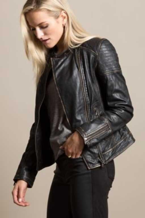 9078adb87b0 Chelsea Lambskin Leather Moto Jacket in 2019   Wardrobe: fall/winter ...