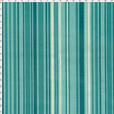 Tecido Estampado para Patchwork - Listrado Elegance Azul Petróleo 100% Algodão - 50cm de comprimento - 1,40m de largura Cada unidade refere-se a um pedaço de 50cm de comprimento por 1,40m de largura. Para adquirir 1 metro, selecione 2 unidades. Fabricante: Fabricart