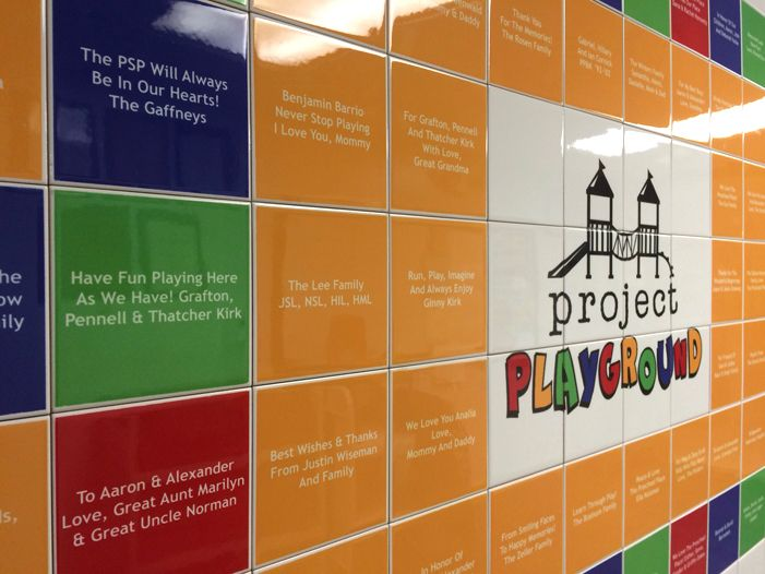20 Best Images About Donor Recognition Tile Walls And