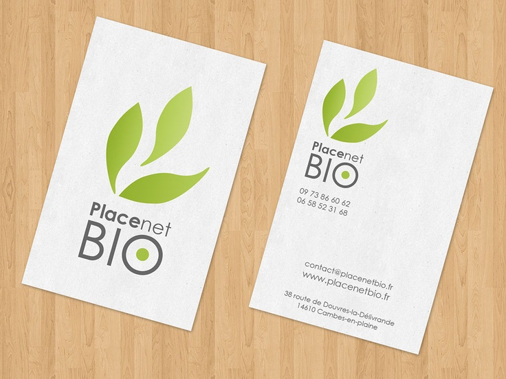 Business Cards - PlaceNet Bio - Recycling
