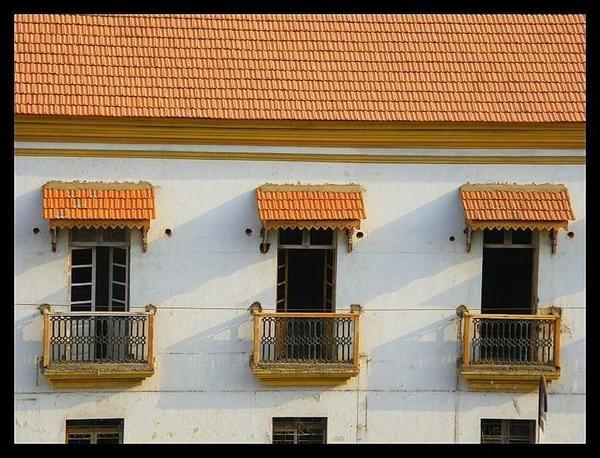 Portuguese architecture. Goa, India.