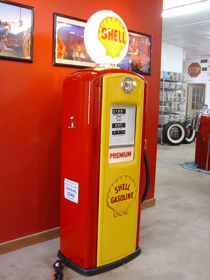 how to use petrol station air pump