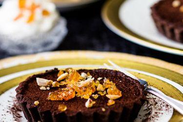 Rich chocolate tarts recipe, Viva – Indulgent treats for days when only dessert will do – foodhub.co.nz