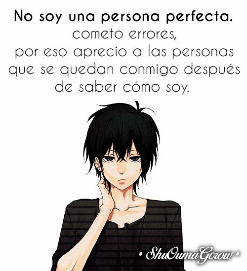 anime frases anime frases sentimientos ShuOumaGcrow