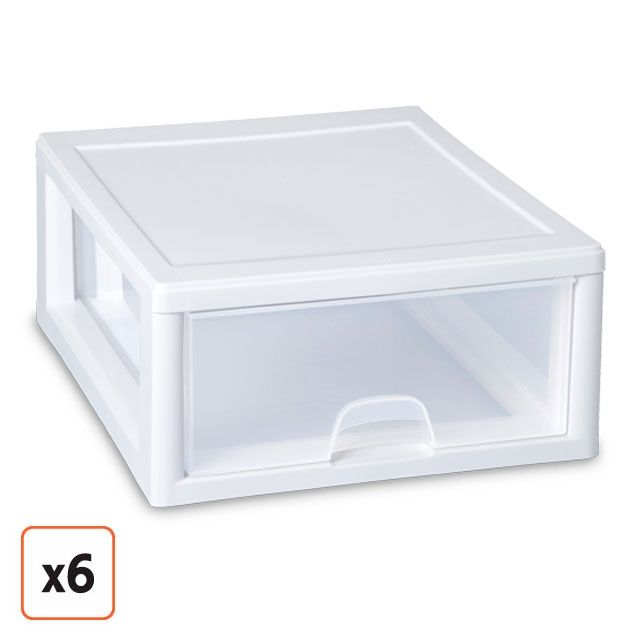 cheap plastic single drawer storage