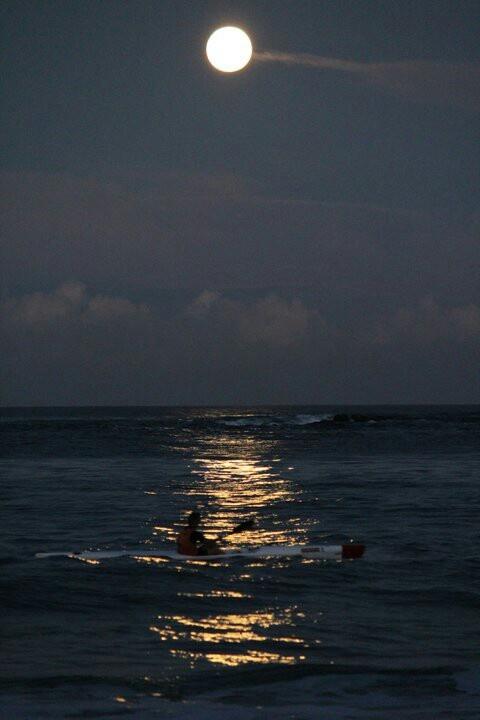 Full Moon surfski Plettenberg Bay