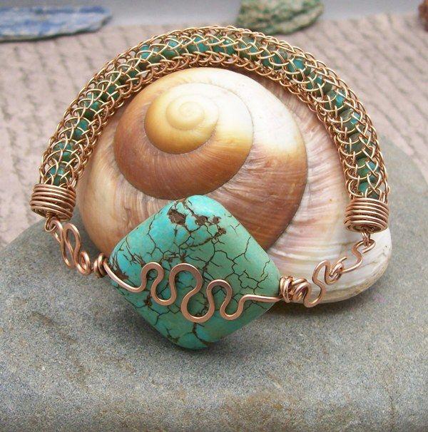 viking knit   Viking Knit Bracelet Workshop: Pensacola State College   Delia Stones ...