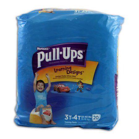 Huggies Pull Ups Ld Jumbo 3t-4t Boy 20ct
