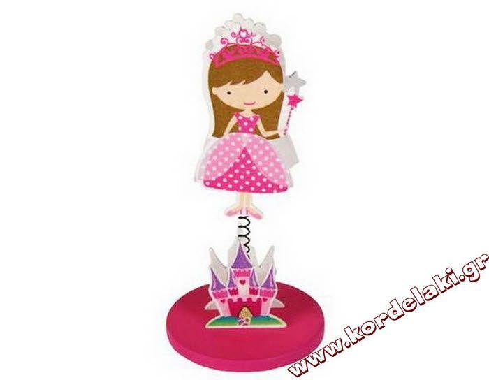 Πριγκίπισσα με μανταλάκι για μπομπονιέρα βάπτισης