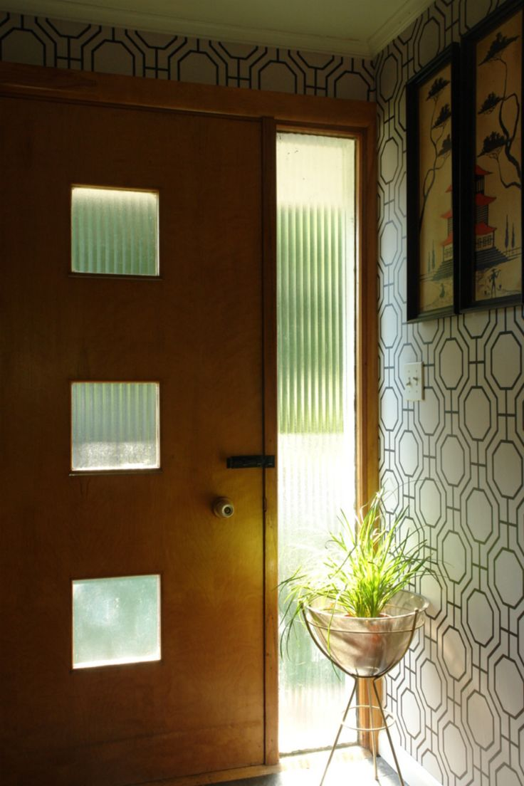 1835 best images about mid century on pinterest plant - Mid century front door ...