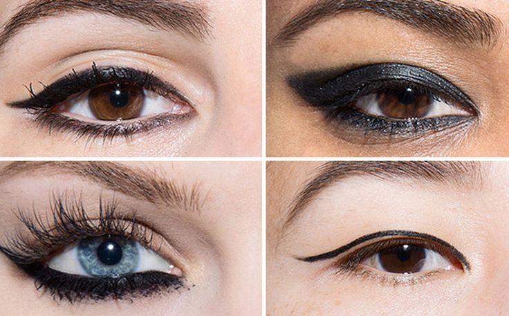 Идеальные стрелки длялюбой формы глаз: следуй простым схемам!