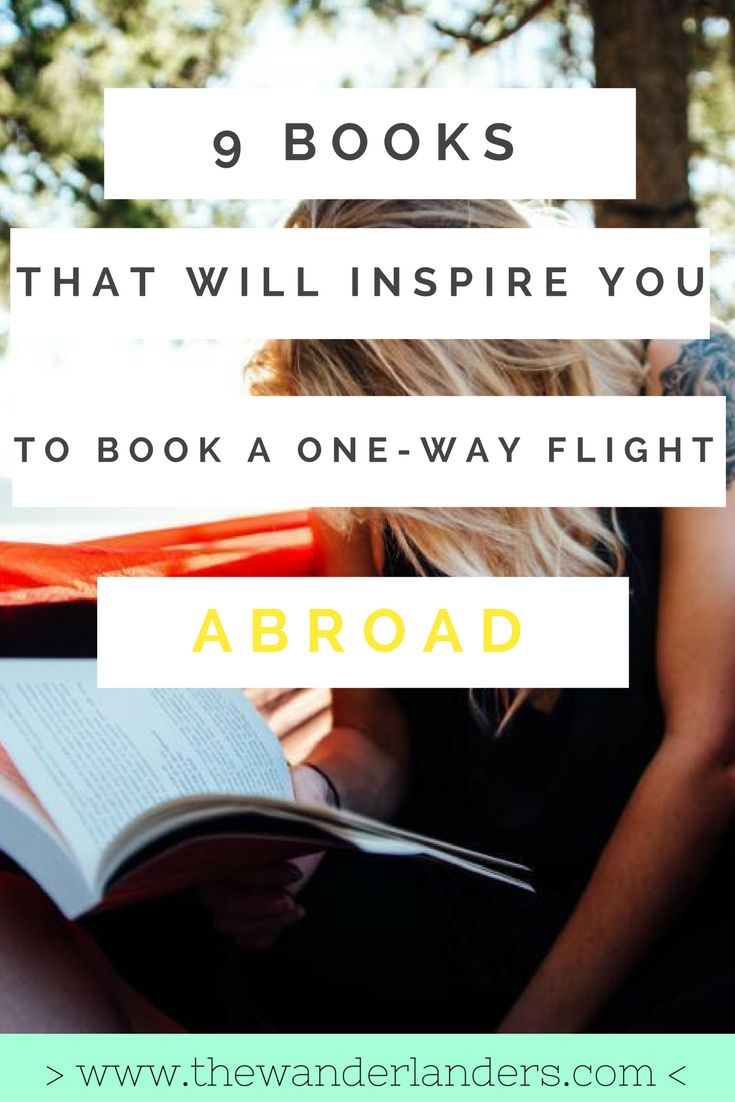 If you're looking for a book to read that will inspire you to move abroad, look no further! Here are 9 books that will have you booking a one-way flight.