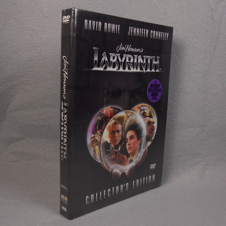Jim Henson's Labyrinth DVD Collector's Edition David Bowie Jennifer Connelly #Labyrinth #DavidBowie