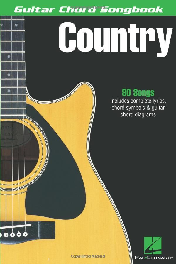 Country Hal Leonard Corp 9780634050558 Gateway Amazon Ca Guitar Chords Guitar Guitar Sheet Music