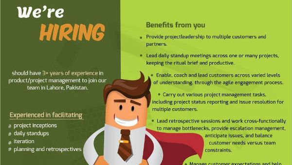 Free Job Flyer Template from i.pinimg.com