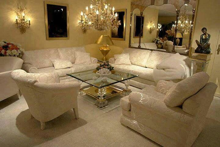 cream and gold living room set beautiful home pinterest