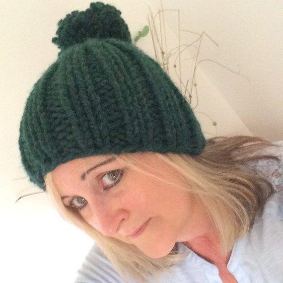Green Knitted Hat dddf1e4ed81