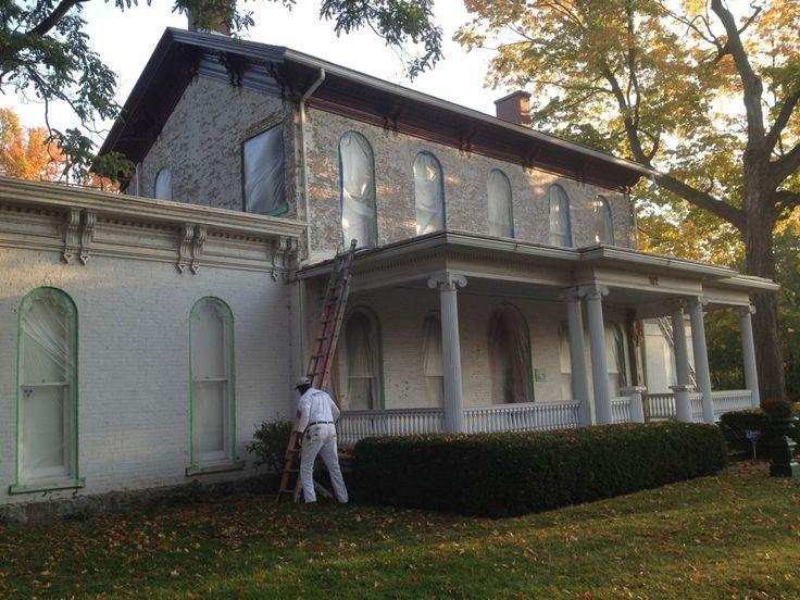 The Havilah Beardsley House restoration in Elkhart, IN