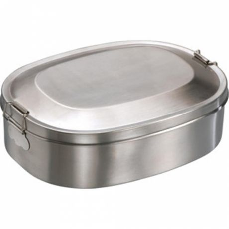 Lunchbox Edelstahl - ersetzt Brotdose aus Plastik
