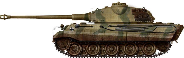 Panzer VI Ausf B King Tiger Porsche turret (1944)