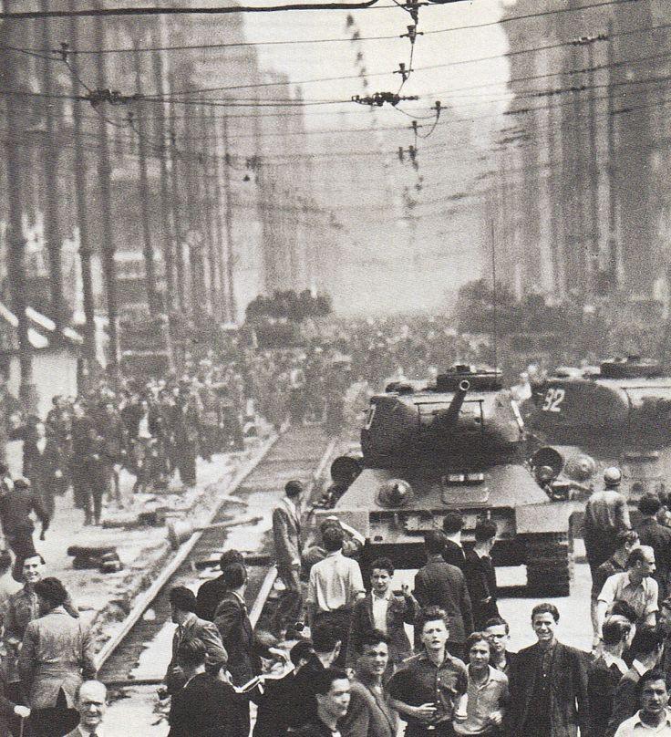 Berlin, 17 Juni 1953, Leipziger Straße. Fotograf unbekannt.