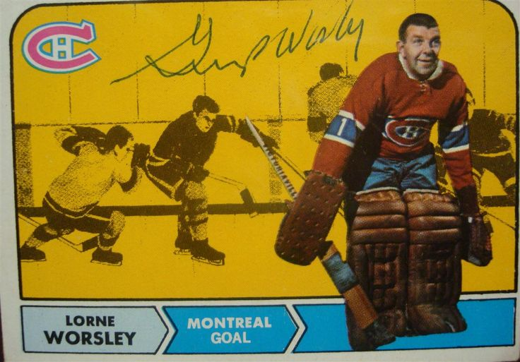 gump worsley hockey cards | Gump Worsley