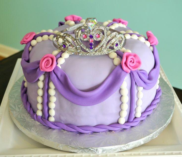 Disney Princess Sophia the First Birthday Cake