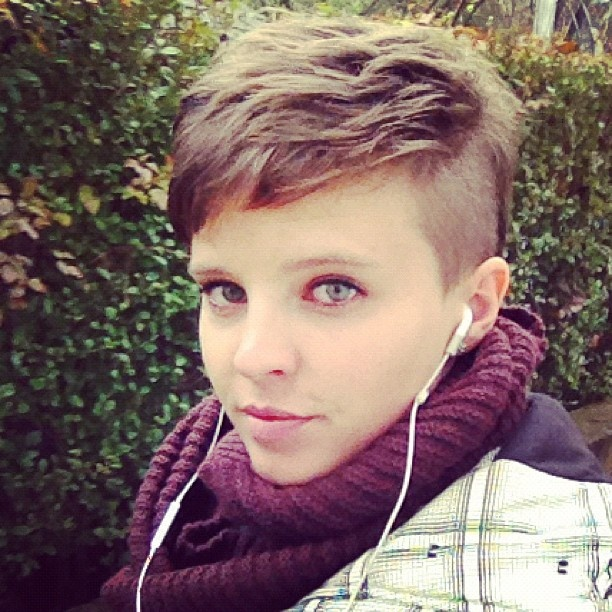 Pleasant 1000 Images About Sidecut Cuties On Pinterest Side Shave My Short Hairstyles Gunalazisus