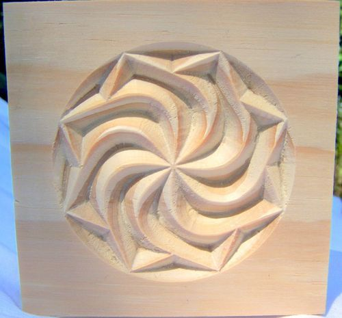 Swirl Style Rosette Corner Block Oak Pine MDF Paint Grade Custom Size   eBay