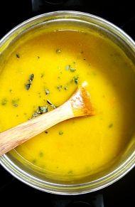 Recept a dýňovou polévku hokaido