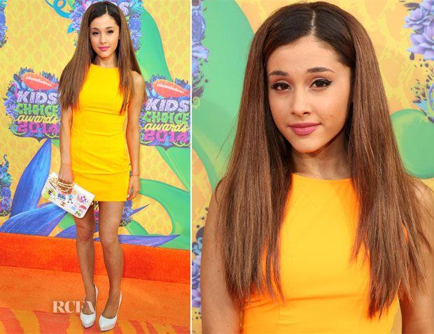 Ariana Grande In Aiisha Ramadan – Nickelodeon Kids' Choice Awards 2014