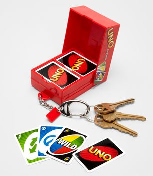 Mini Uno Cards | Swissmiss